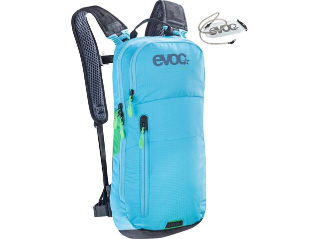 Evoc CC Backpack 6 L + Hydration Bladder 2 L neon blue